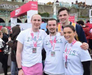 Parks Residential marathon team