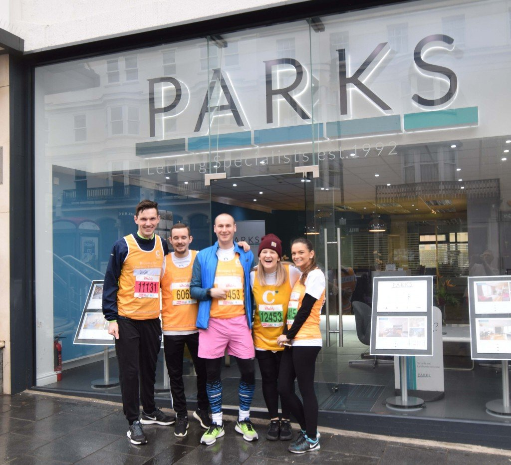 Parks Marathon Team Outside Shop