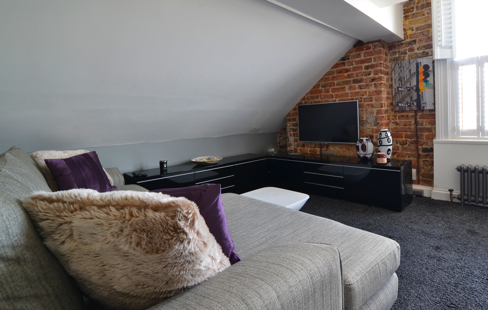 A loft apartment previously let by Parks letting agents in Brighton